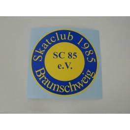 Aufkleber SC85-Logo groß